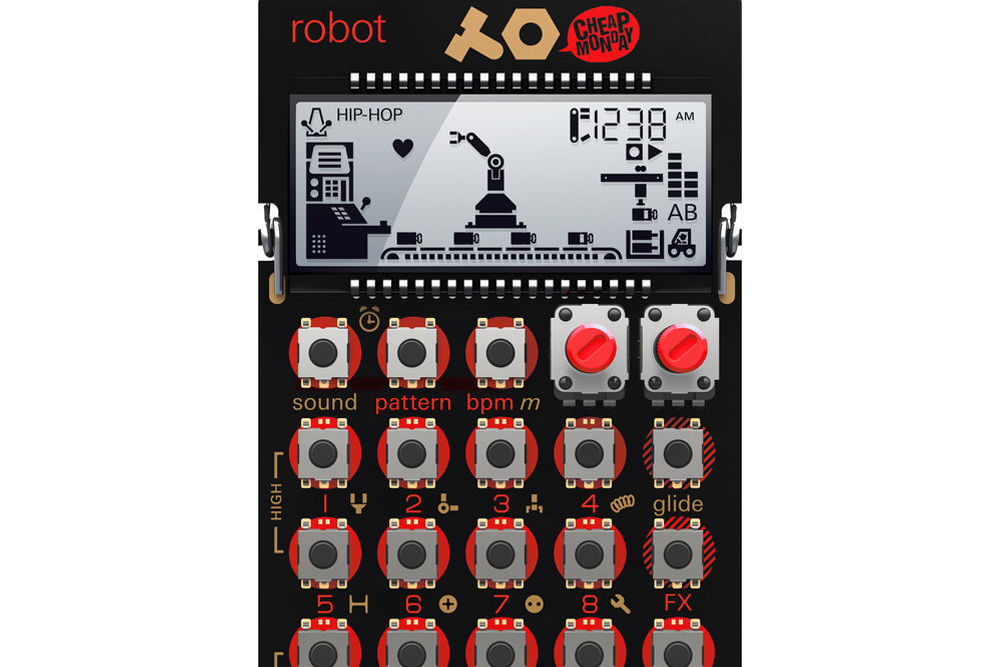Teenage engineering 010 as 028 po 28 pocket operator robot 1203289