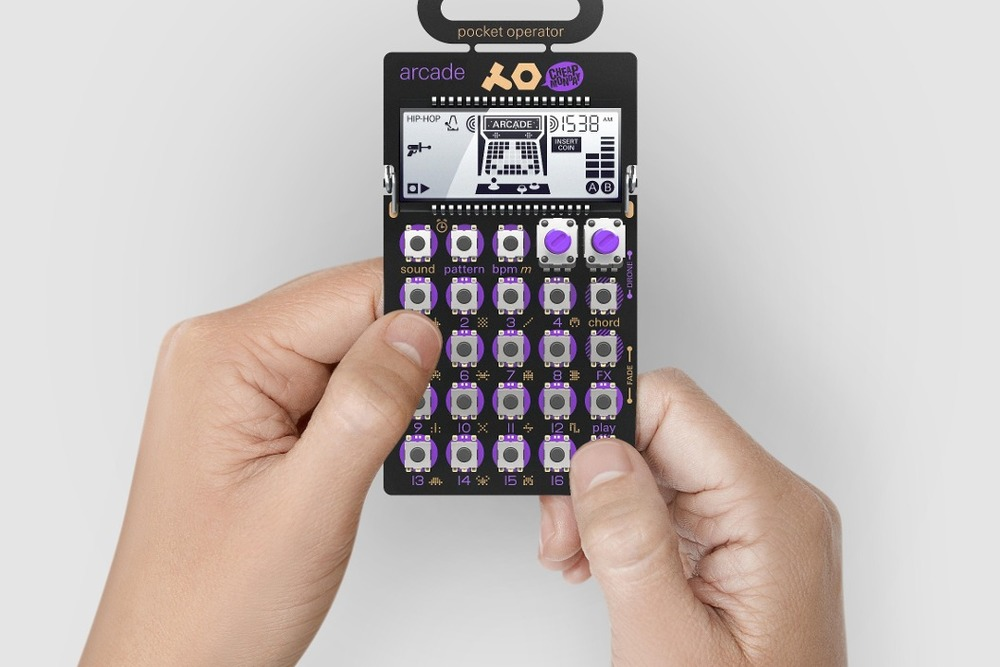 Arcade po 20 pocket operator drum machine 8 bit teenage d nq np 272405 mco20862377677 082016 f