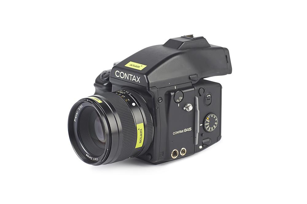 Contax645 planar80 2